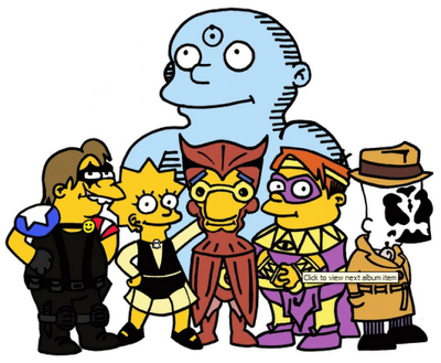 watchmen simpsonized version
