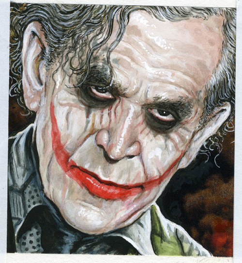 george W Bush, Joker