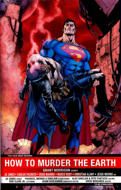 Death of Batman, Final Crisis, Superman, Batman, Superman carrying Batman