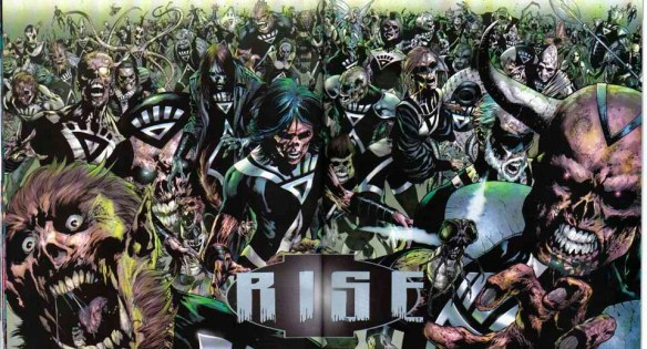 Black Lanterns RISE, green lantern, blackest night, black lanterns