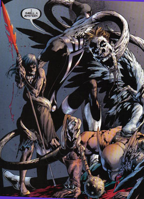 Elongated Man, Sue, ralph dibny, hawkman, black lanterns, blackest night