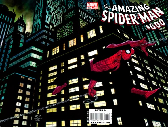 Amazing Spider Man 600, cover, Spider Man
