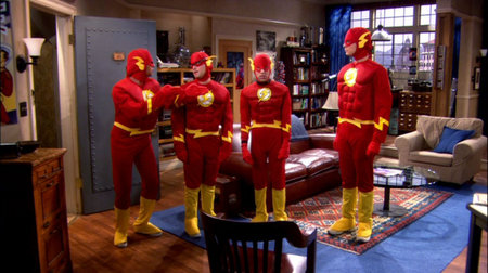 big bang theory, flash, leonard, sheldon, holowitz, raj