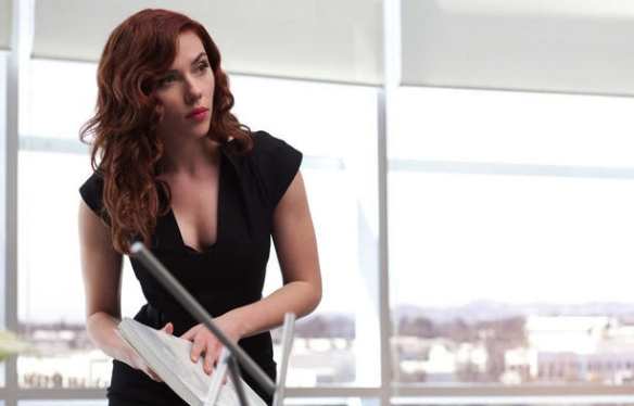 scarlett johannson black widow iron man 2